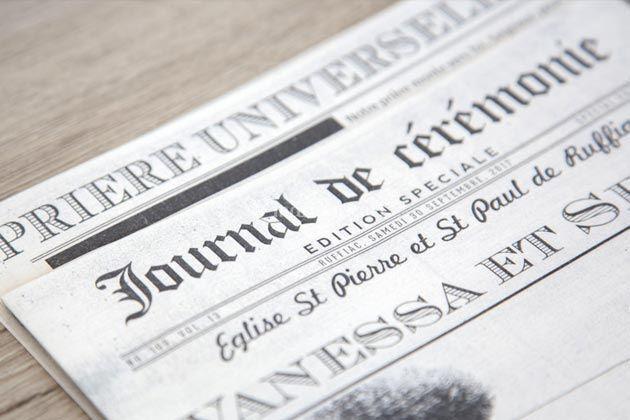 Livert de messe journal