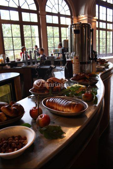 Petit déjeuner Le Trianon