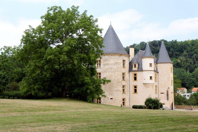 Château et autres lieux de réception