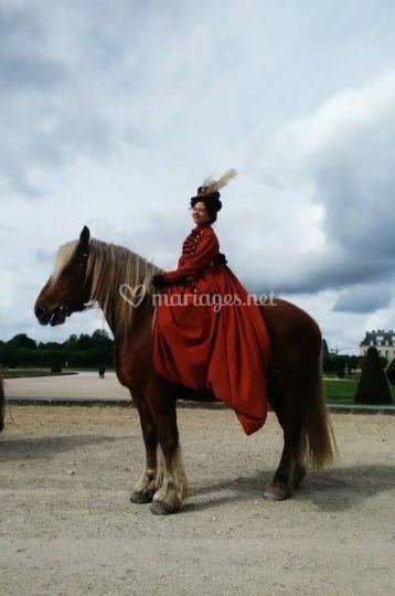 Elégance à cheval