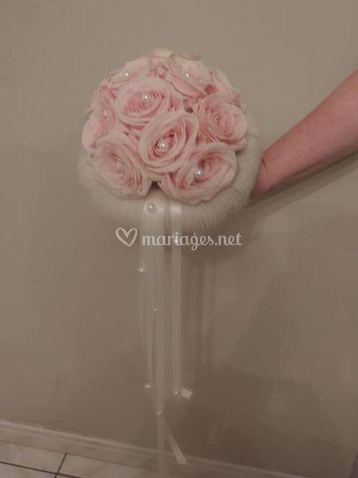Bouquet de marié Sandra