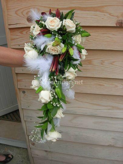 Bouquet de marié Julie