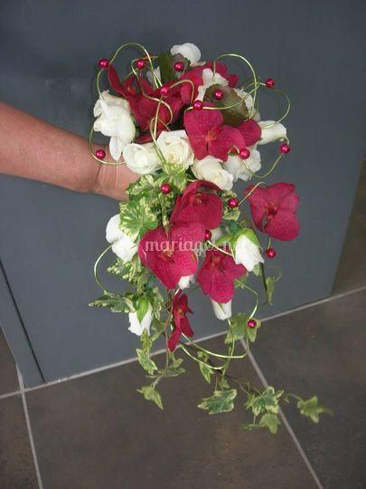 Bouquet de marié Chloé