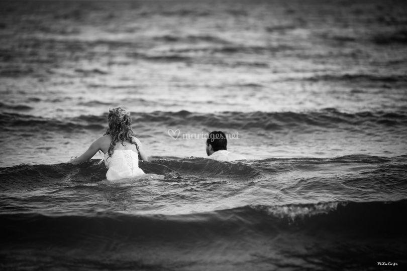 Mariés à la mer !