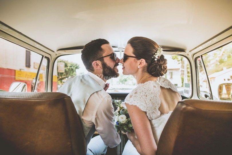 Mariage en combi T2