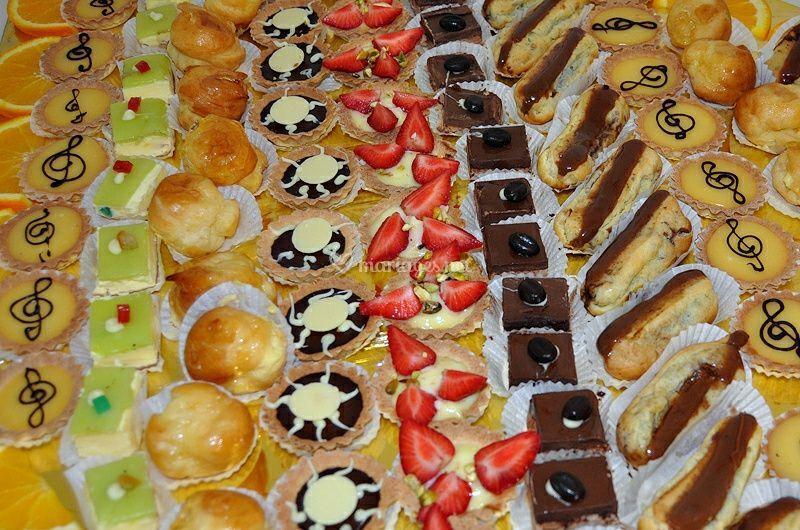 Plateaux de pâtisseries