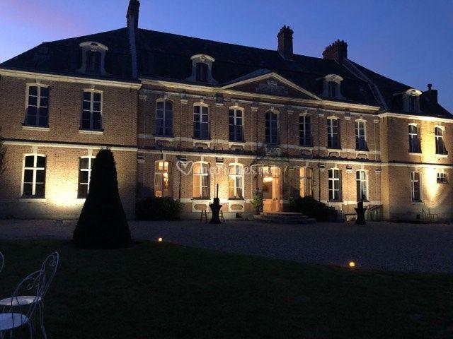 Eclairage Facade du Chateau