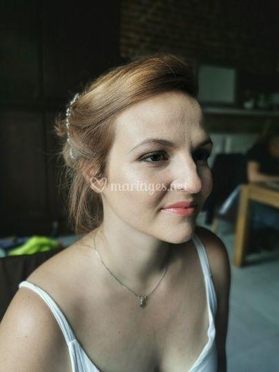 Essai make-up Camille