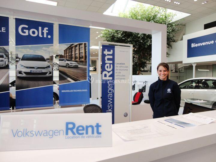Votre agent Volkswagen Rent :