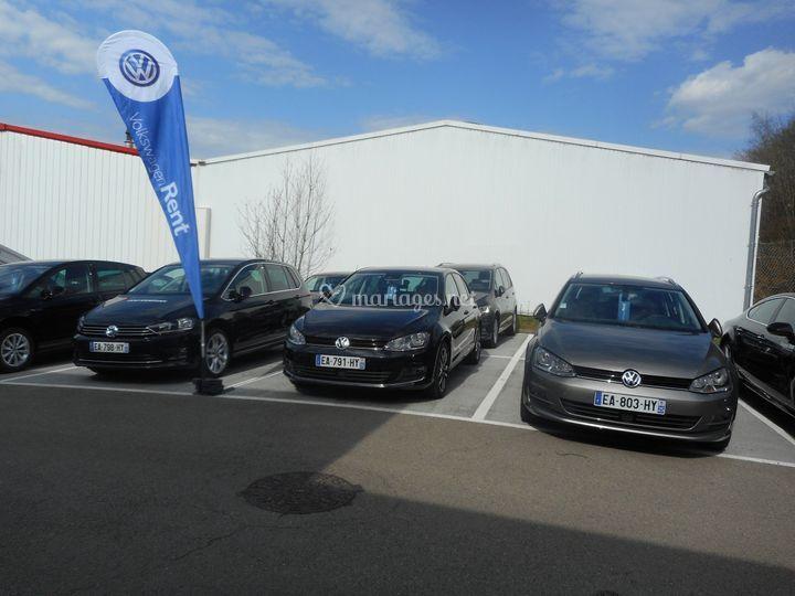 Véhicules Volkswagen Rent