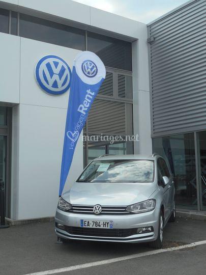 Véhicule Volkswagen Rent