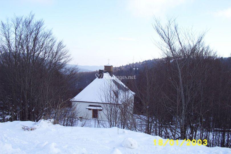 Chapelle au markstein