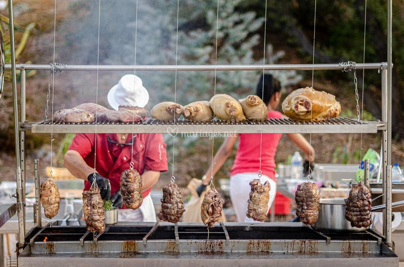 Barbecue Géant - Agitateur de Papilles