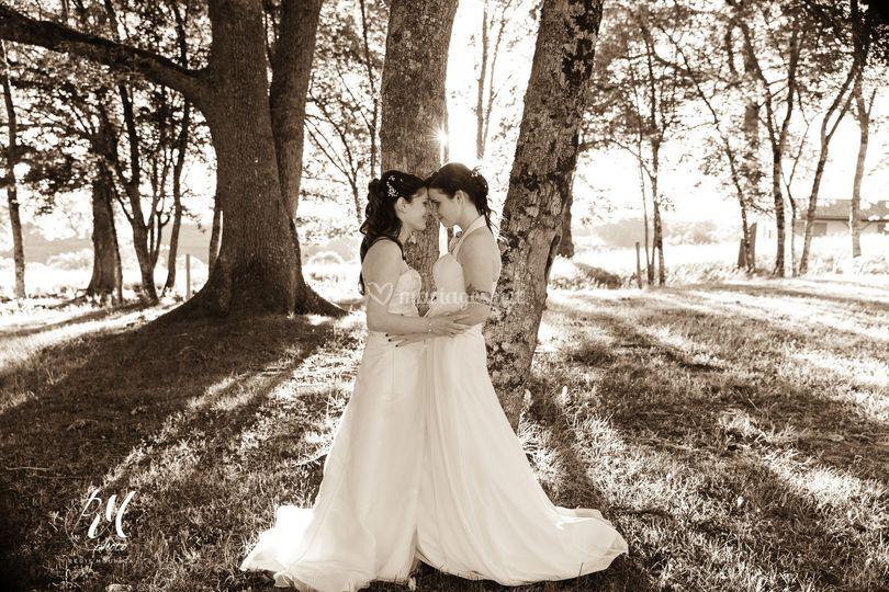 Mariage Aline et Jennifer