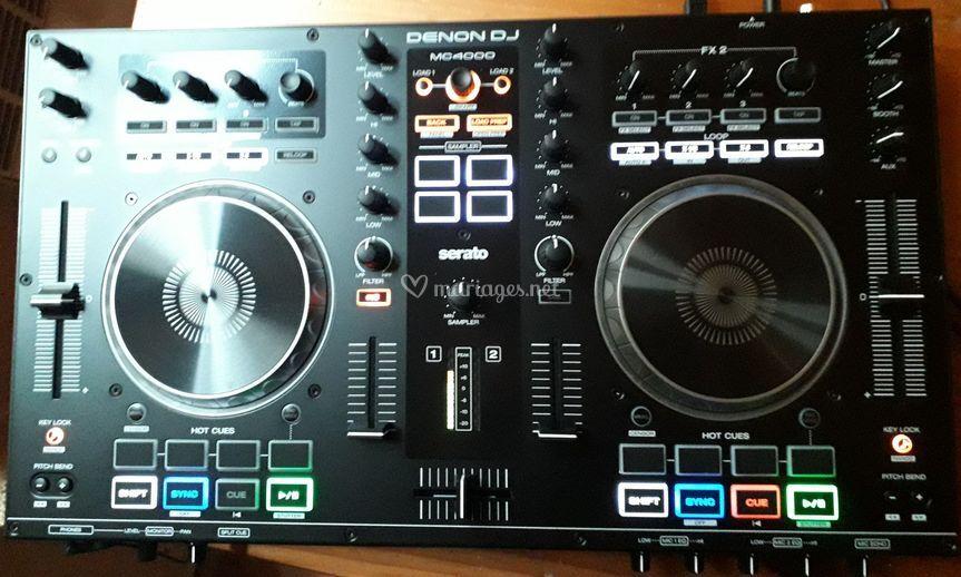 Contrôleur de mix DENON MC 400