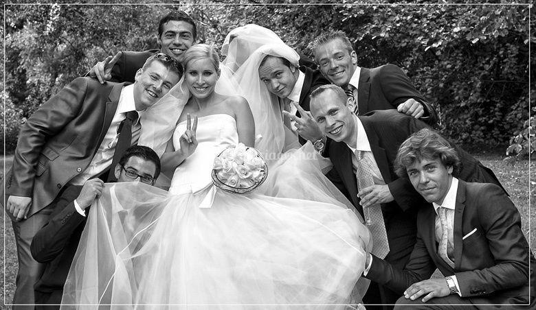 Les amis des mariés