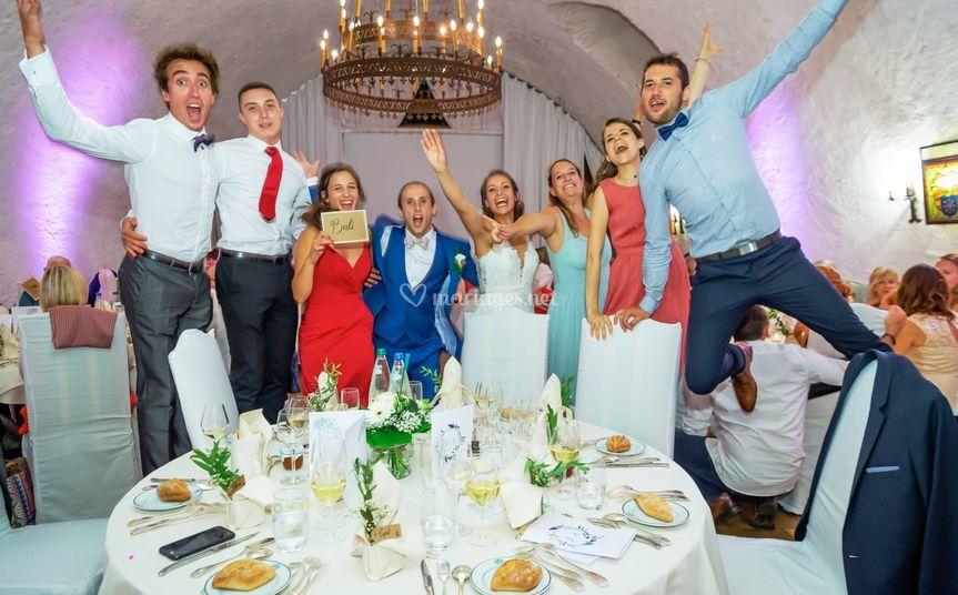 Les mariés en folie