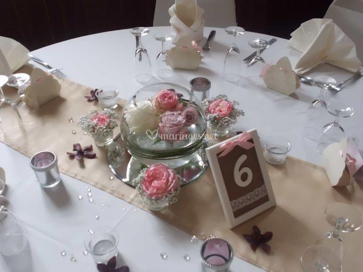 Nos decorations de table