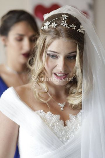 Photographe mariage préparatif