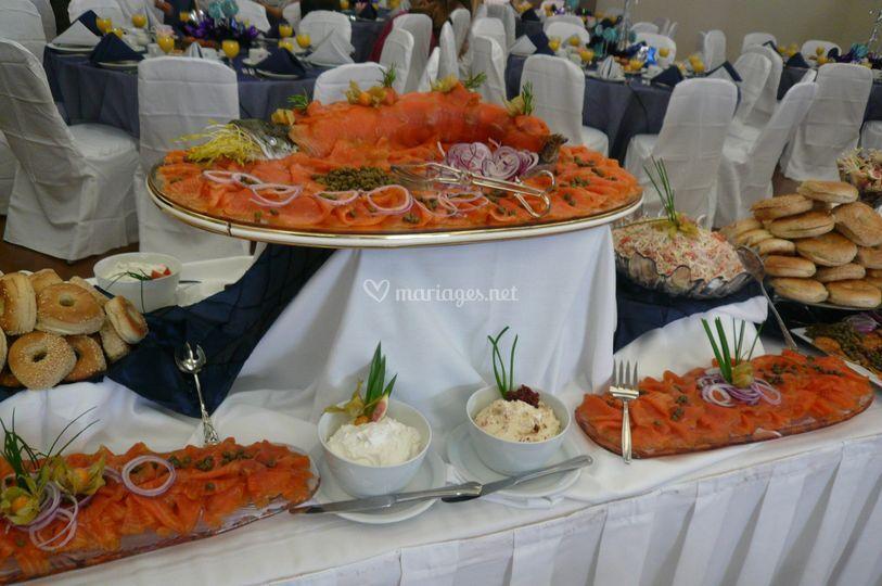 Buffet de la mer