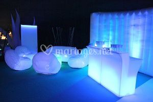 Mobilier lumineux Lounge