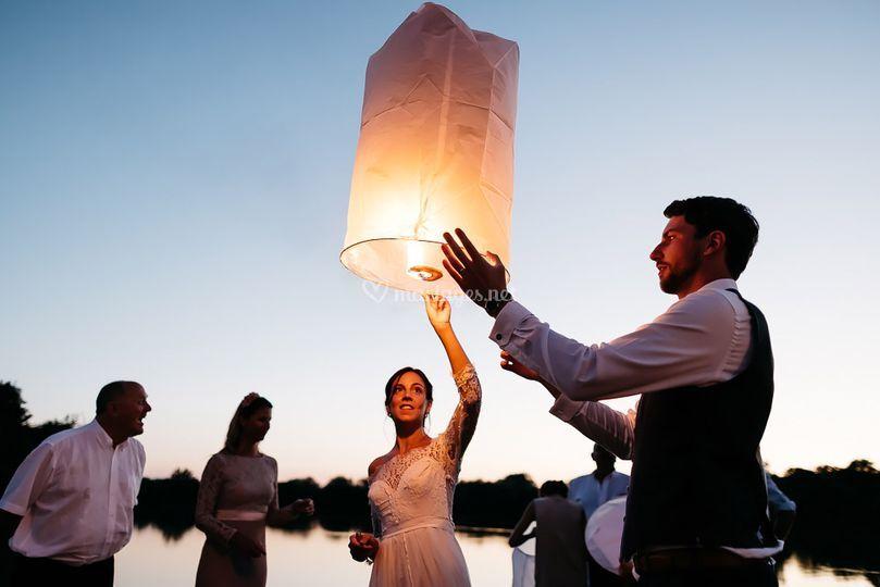 Lancer de lanternes