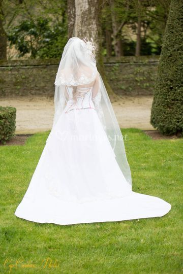 Dos robe mariée
