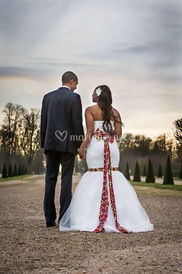 Mariage thème Afrique