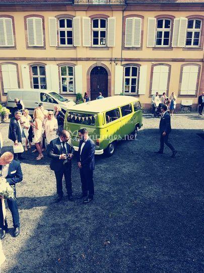 Mariage en combi VW !