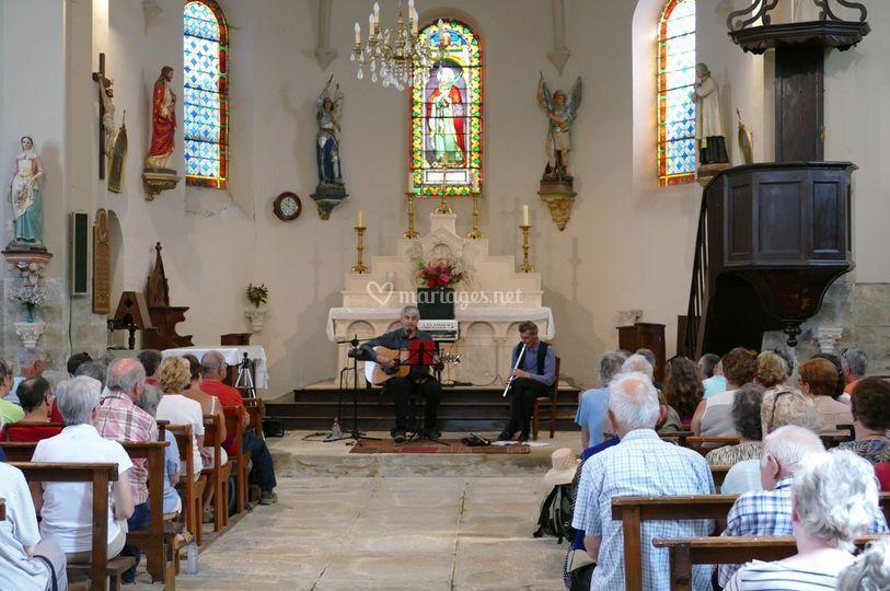 Concert à Causse et Diège