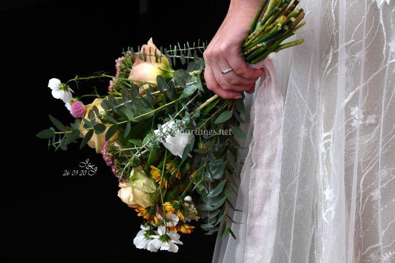 Bouquet de mariée Julie