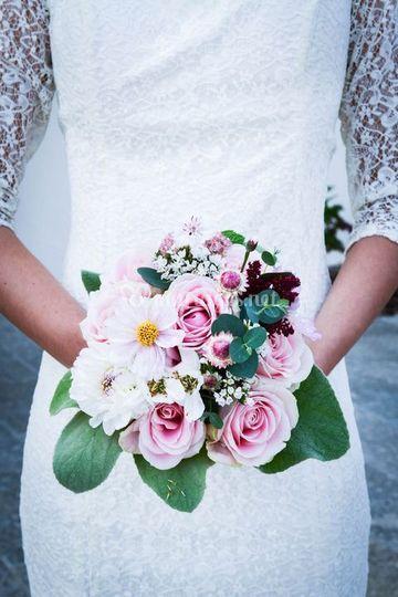 Bouquet de mariée Aurélie