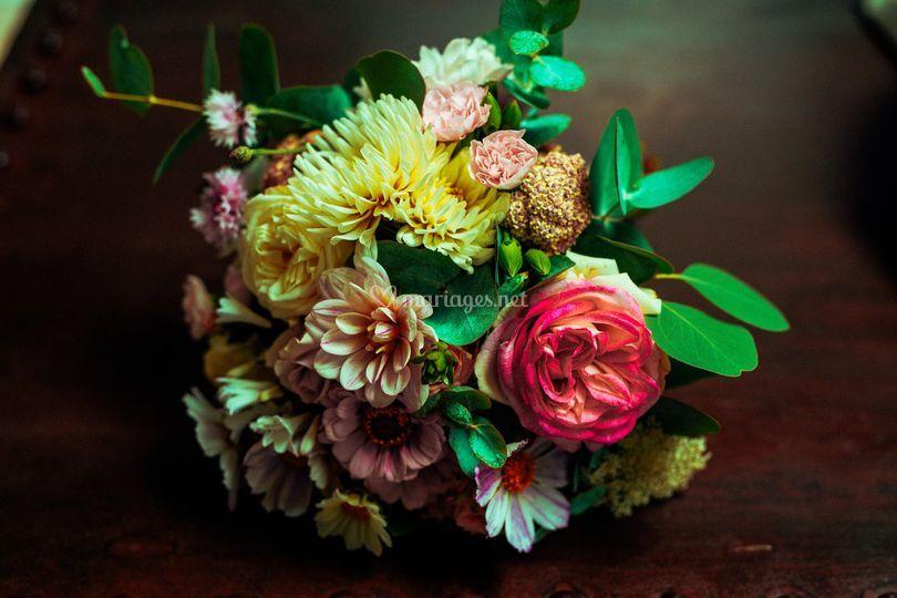Bouquet de mariée Manon.