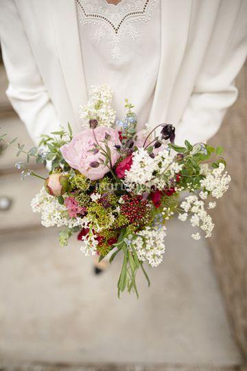 Bouquet de mariée Sarah