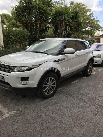 Range Rover location