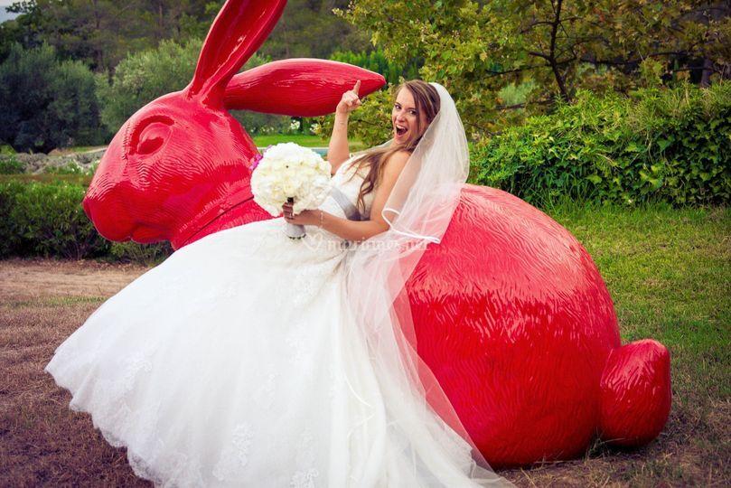 Quand la mariée se lâche