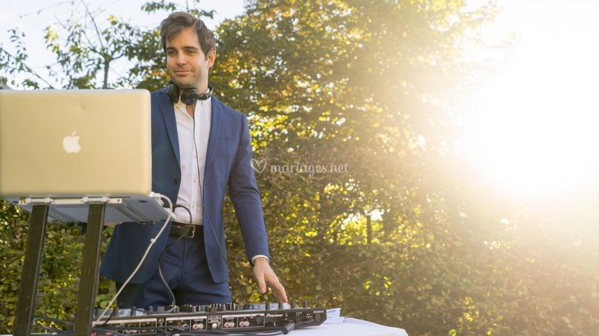 Baptiste, DJ au cocktail