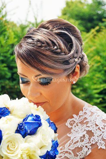 Le bouquet de notre mariée