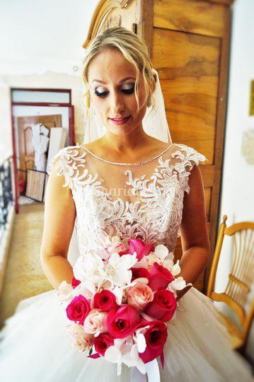 Bouquet de notre mariée