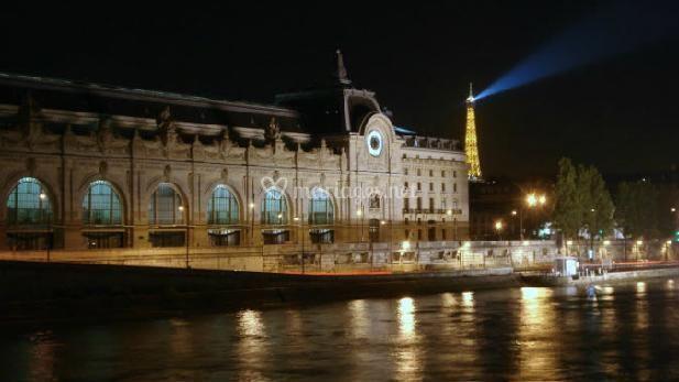 Décor parisien romantique