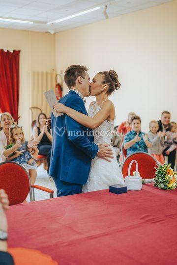 Le baiser gagnant