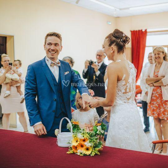Les mariés / alliances