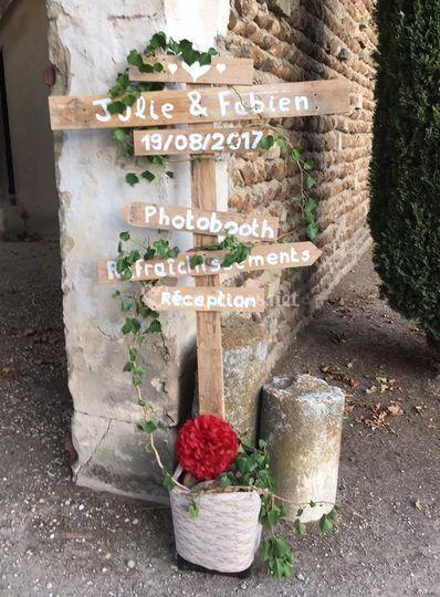 Mariage de Julie et Fabien