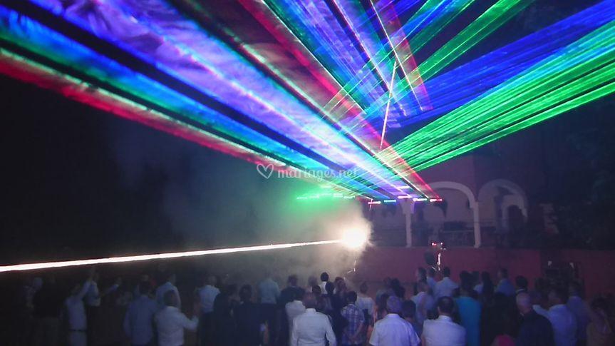 Laser volumétrique 3D