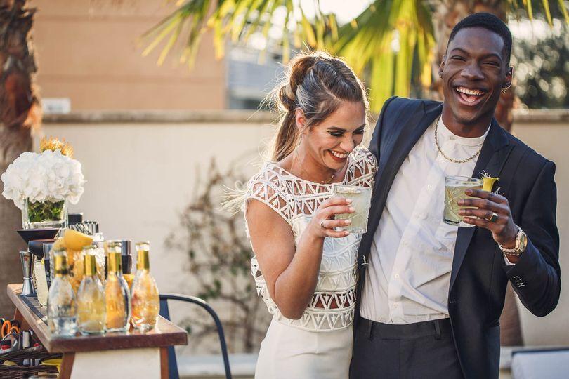 Mariage moderne mixte
