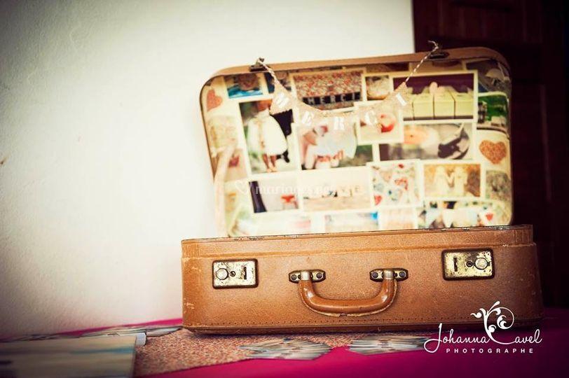 Urne valise personnalisée