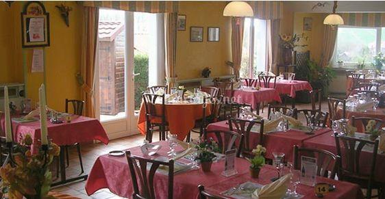 Salle de restaurant/reception