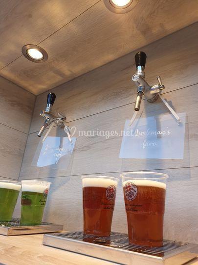 Des bonnes bières de région