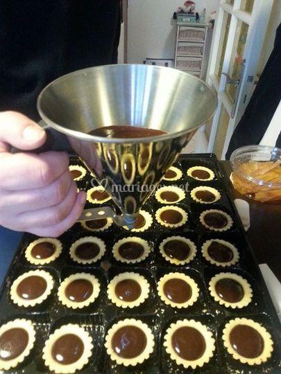 Tartelettes chocolat-orange