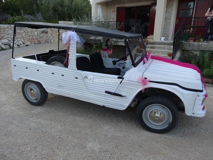 Citroën méhari blanche 1971